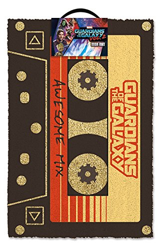 Poster 3D Guardians of The Galaxy - Doormat Awesome