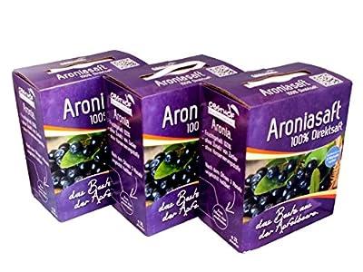 Obsthof Stockinger - Aroniasaft 3 x 3 Liter Bag in Box