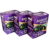 Obsthof Stockinger Aronia Muttersaft Bag in Box Aroniasaft, Sparpaket, 3x 3 l