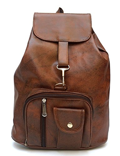 Glory Fashion Women's Stylish Handbag Backpack Tan