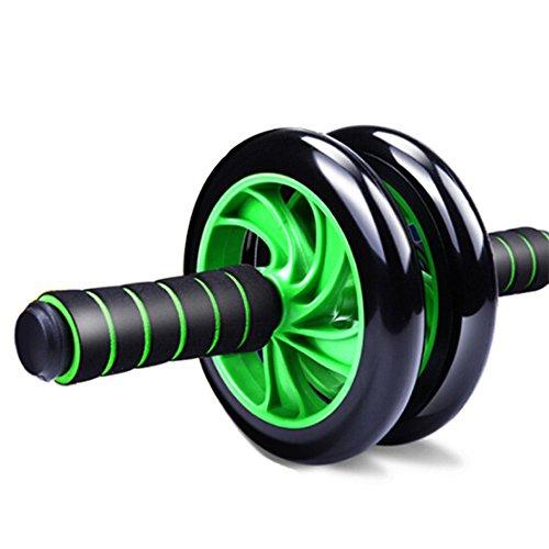 Ab Roller-Rad-Übungsgerät Ab Roller für Bauchmuskeltraining Übungsgeräte Rad Roller für Heimgymnastik Bauchmuskeln für das Training Ab-Rad-Übungsgerät, Ab-Rad-Roller für Heimtrainer, ( Farbe : Grün )