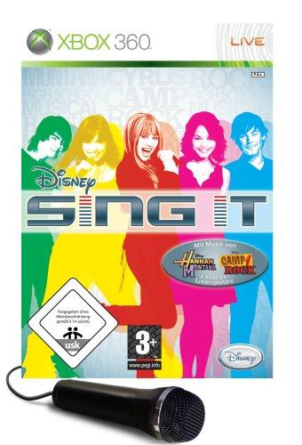 Disney Sing it + Mikrofon (Disney Sing It Für Xbox)