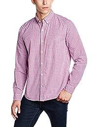 GAP Men's Poplin Long Sleeve Shirt