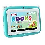 Padgene 4.3 Zoll Kinder Tablet PC 4G ROM-Speicher Android 1.2 GHz bilige Tablet für Kids mit Spezialangebot (Hell Blau)