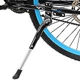 Fahrradständer, WeyTy Universal Höheneinstellbar Fahrrad Ständer faltbar Seitenständer Hinterbauständer mit Anti-Rutsch Gummifuß Aluminiunlegierung für Mountainbike, Rennrad, Fahrräder