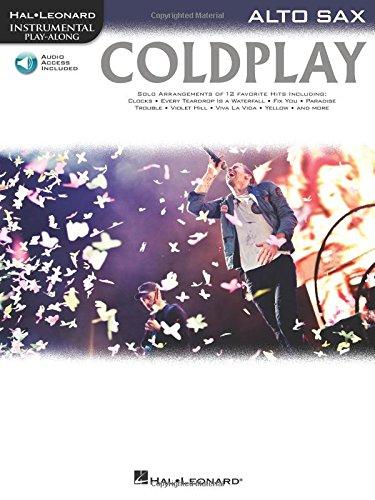Coldplay (Alto Saxophone) Saxophone +CD (Instrumental Playalong)