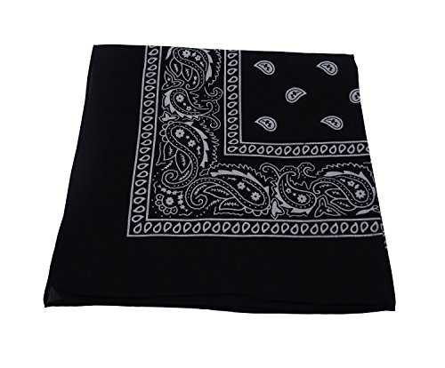 tooky-color-scarf-is-square-paisley-bandana-100-cotton-black