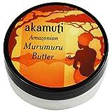AKAMUTI - Beurre de Murumuru - Soin intensif pour les cheveux secs et crépus - Adoucit le cuir chevelu et les cheveux - Apporte de la brillance - Prévient le déssèchement