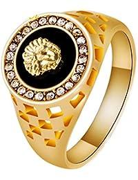 508e959357203 Ueice Creux Gravé Méduse Diamant Égouttage Pétrole Acier Inoxydable ...