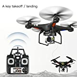Hanbaili RC Quadcopter Drone with 5MP 120°Wide-angle 1080p HD Camera,Sports Action & Selfie Camera for Sharper Aerial Image by Cewaal
