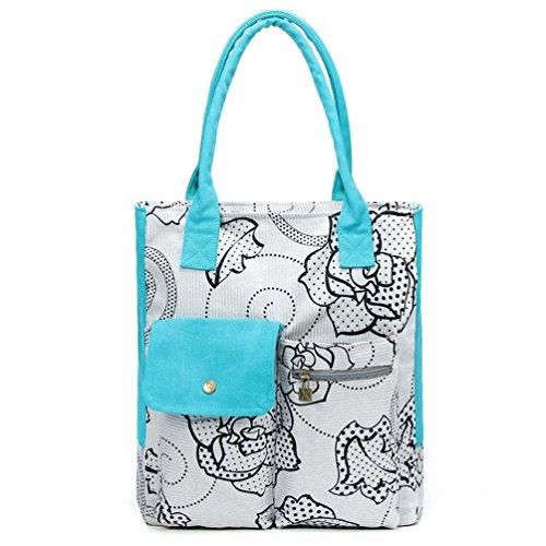 Chang Spent Mode für Frauen Retro Leinwand Umhängetasche große Tasche Handtasche a