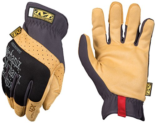 Mechanix Wear MF4X-75-009 Material4X Fastfit Guanti, Nero, Medium