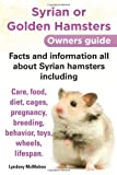 Syrian or Golden Hamsters: An Owners Guide - Facts and Information All About Syrian Hamsters