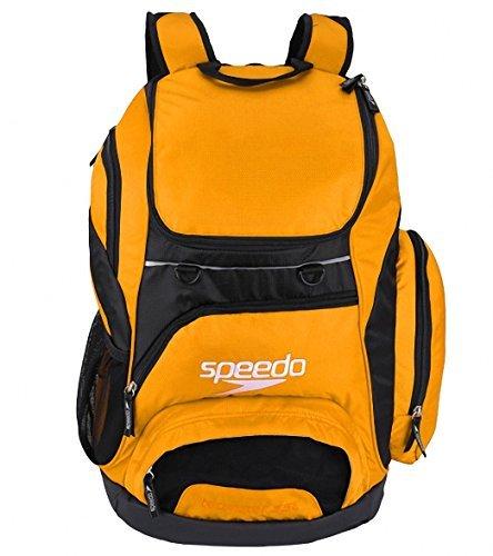 Speedo Teamster Mochila, Unisex Adulto, Naranja, 35 l