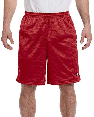 champion-pantaloncini-maglia-lunga-con-tasche-scarlet-xl