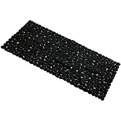 grande tappeto di ghiaia doccia/Bagno stuoie mosaico bagno ventosa pad-E 36x75cm(14x30inch)