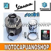Kit modifica Motor 210 cc Grupo Térmico Cilindro Pistón Polini VESPA PX PE 200