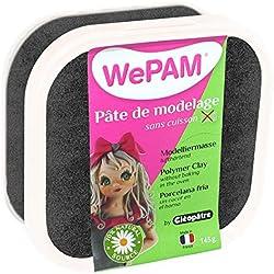 Cleopatre WePAM - Porcelana fría, 145 gr, color negro nacarado