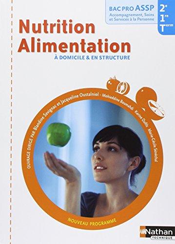 Nutrition Alimentation à domicile & en structure Bac pro ASSP