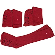 SOCKFIX Calcetines escolares largos con botón (pack 3 ...