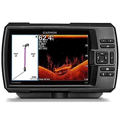 Garmin 01554 Cup Striker 7SV, Worldwide (Doppia Frequenza Trasduttore)