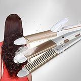 Hair Straightener Cheveux Bigoudi Fer À Lisser 3 En 1 Négatifs Ions Fer À Friser Fer Plat 30S Chauffage En Céramique Curling Baguette Maïs