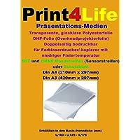 50 fogli di formato A4 stampati su entrambi i lati