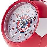 Wecker FC Bayern MÜNCHEN + gratis Sticker München Forever, Wecker FCB