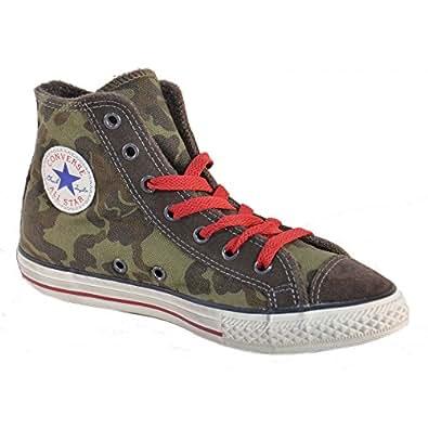 Converse All Star Ct Side Zip Scarpa Verde Lacci Zip 641234C
