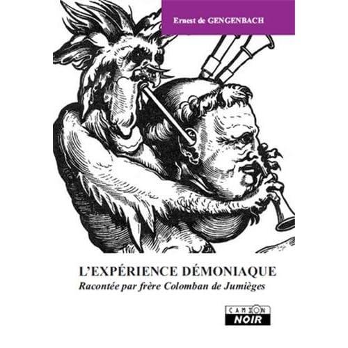 ERNEST DE GENGENBACH L'Expérience démoniaque