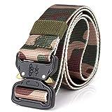 TMSHEN Equipo Militar De Combate Cinturón Táctico Hombres 1000D Nylon Hebilla De Metal Cinturones Desmontables Soldado del Ejército Llevar Cinturón