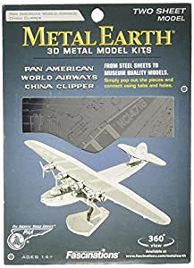 Metal Earth - Maqueta metálica Avión PanAmerican China Clipper
