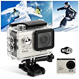 Duomishu Action Sport Kamera 4k HD Action Cam WiFi 1080P Outdoor-Action video Kamera, wasserdichtem...