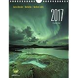 Calendario de la aurora boreal en Islandia 2017