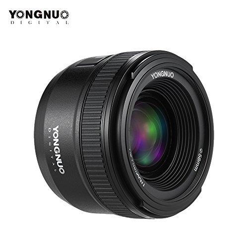 YONGNUO YN35mm F2N f 2.0 Weitwinkel AF / MF Fixfokus Objektiv für Nikon D7200 D7100 D7000 D5300 D5100 D3300 D3200 D3100 D800 D600 D300 D300S D90 D5500 D3400 D500 DSLR-Kameras