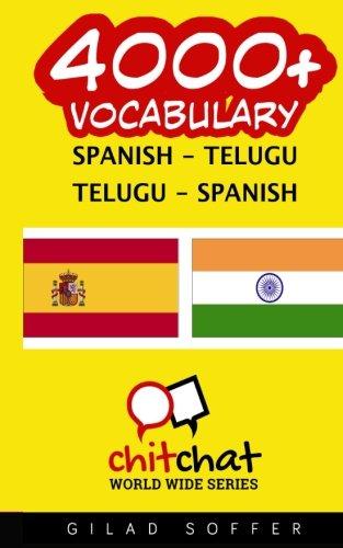 4000+ Spanish - Telugu Telugu - Spanish Vocabulary por Gilad Soffer