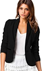 SuperSU Frauen Geschäfts Mantel Blazer Klage langärmlige Oberseiten dünne Jacke Outwear Damen Cardigan Strickjacke Pullover Outwear Tops Strickmantel Loose Hersbt Winter mit Tasche Größe S-6XL