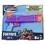 Super soaker E6875EU4 Fortnite HC-E Nerf Spielzeug-Wasserblaster - Überraschendes Nassspritzen - Kapazität von 218 ml - Für Jugendliche und Erwachsene, Mehrfarbig