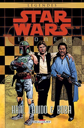Star Wars Icones (5) : Han, Lando & Boba