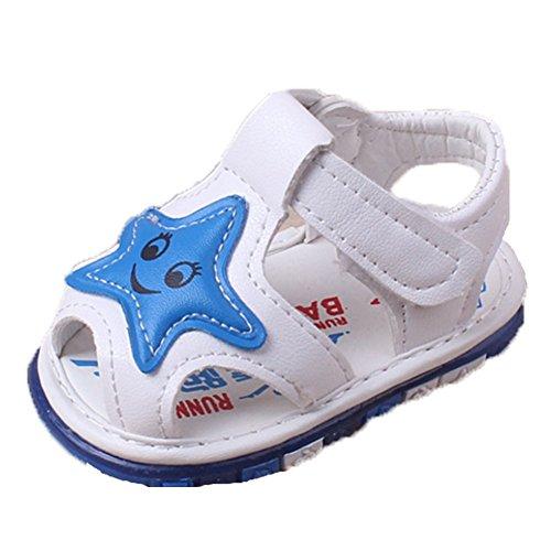 Ohmais Enfants Chaussure Bebe Garcon Fille Premier Pas Chaussure premier pas bébé Sandale abricot