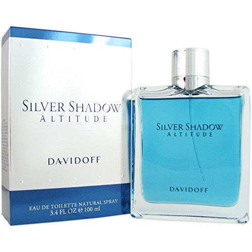 Davidoff Silver Shadow Altitude fragrance for men by Davidoff Eau De Toilette Spray 3.4 oz by Davidoff -