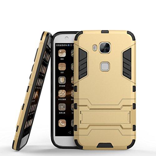 Huawei G7 Plus Custodia,Huawei G8 Custodia,Huawei GX8 Custodia, CHcase Huawei G7 Plus/G8/GX8 Doppio Strato ibrido Cellulari custodie Assorbimento ...