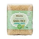 Minvita Orgánica De Arroz Jazmín Gaba Brotado Y 500g De Té Verde (Paquete de 6)