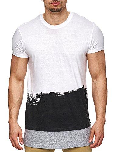 98-86 -  T-shirt - Maniche corte  - Uomo bianco XL