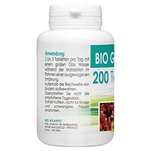 Bio Guarana 400mg – 200 Tabletten