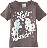 Logoshirt - Maglietta, bambina Grigio (Grey) 3 anni