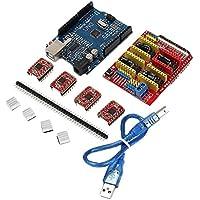 Impresora 3D CNC Arduino Escudo Grabador Junta Driver V3 A4988 Expansión Nuevo V2 V4