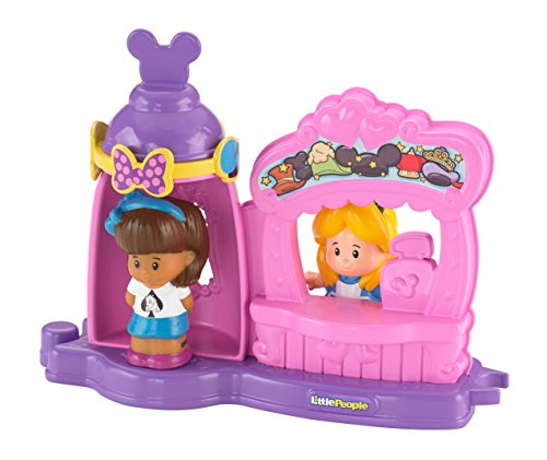 (Fisher Price Little People Alice im Wunderland, Mad Hatter Shop, inkl. 2 Spielfiguren)