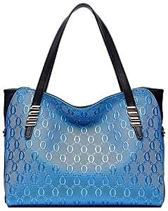 35f51d3a48f6b BOYATU Leder Handtaschen für Damenmode Damen Totes Große Schultertaschen