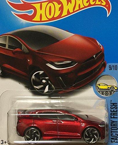 8 Off On Hot Wheels Hot Wheels 2017 Tesla Tesla Model X Red 196 On Amazon Paisawapas Com